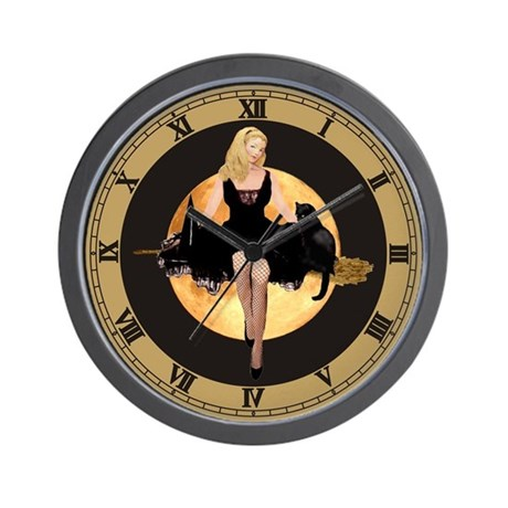 ARE YOU A GOOD WITCH? Wall Clock