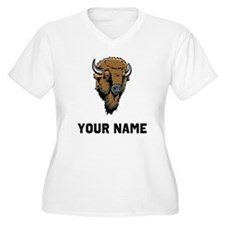Buffalo Head Plus Size T-Shirt
