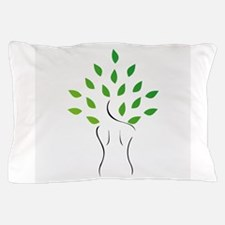 Cute Naked female Pillow Case