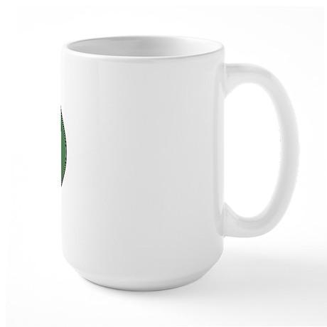 Harrier (green) Large Mug