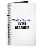 Worlds Greatest EVENT ORGANIZER Journal