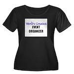 Worlds Greatest EVENT ORGANIZER Women's Plus Size