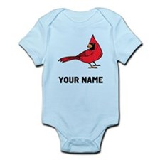Red Cardinal Body Suit