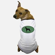 Giant Schnauzer (green) Dog T-Shirt
