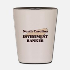 North Carolina Investment Banker Shot Glass