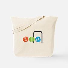 Croquet Balls Tote Bag