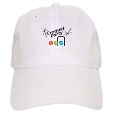 Croquet Party Baseball Cap