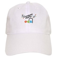 Croquet Party Baseball Hat
