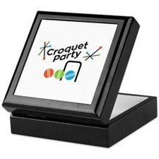 Croquet Party Keepsake Box