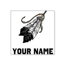 Native American Feathers Sticker