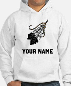 Native American Feathers Hoodie