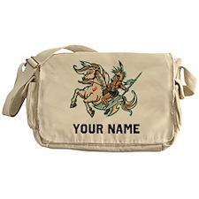 Native American Warrior Messenger Bag