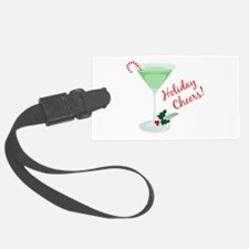 Holiday Cheers Luggage Tag