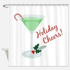 Holiday Cheers Shower Curtain