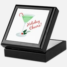 Holiday Cheers Keepsake Box