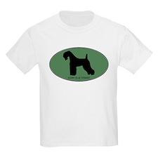 Kerry Blue Terrier (green) T-Shirt