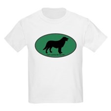 Flat Coated Retriever (green) T-Shirt