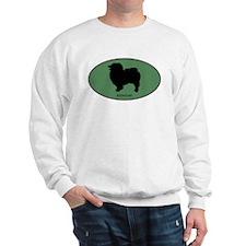 Keeshound (green) Sweatshirt