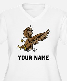 Bald Eagle Plus Size T-Shirt