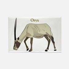 Oryx Rectangle Magnet
