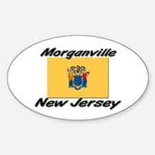 Morganville New Jersey Oval Decal