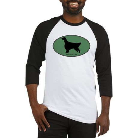 English Setter (green) Baseball Jersey