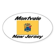 Montvale New Jersey Oval Decal