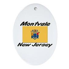 Montvale New Jersey Oval Ornament