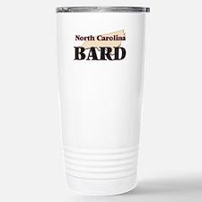 North Carolina Bard Travel Mug