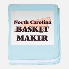 North Carolina Basket Maker baby blanket