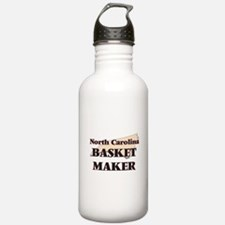 North Carolina Basket Water Bottle