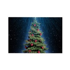 Beautiful Christmas Tree Magnets