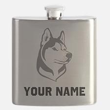 Wolf Head Flask