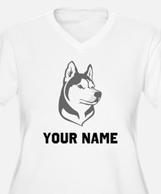 Wolf Head Plus Size T-Shirt