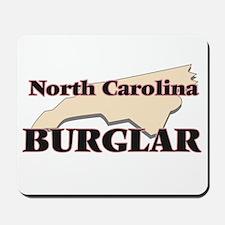 North Carolina Burglar Mousepad