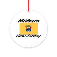 Millburn New Jersey Ornament (Round)