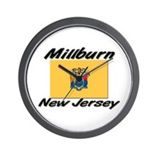 Millburn New Jersey Wall Clock