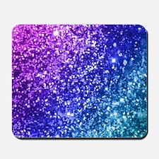 Glitter Ocean Bokeh Mousepad