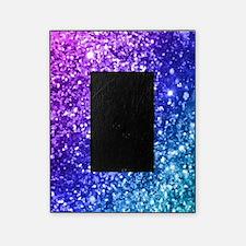glitter ocean bokeh picture frame