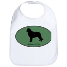 Belgian Sheepdog (green) Bib
