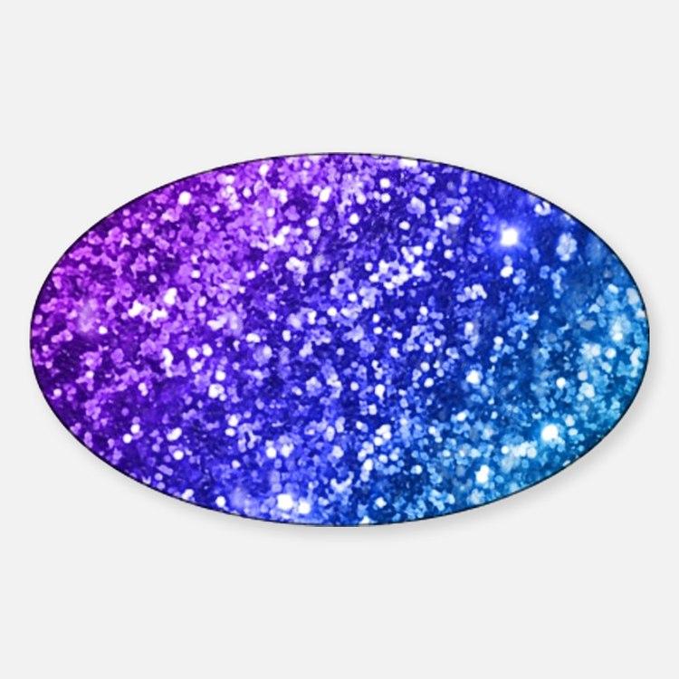 Glitter Ocean Bokeh Decal