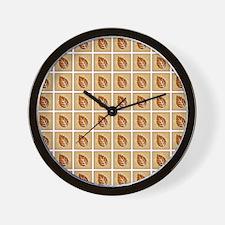 LEAF SILHOUETTE Wall Clock