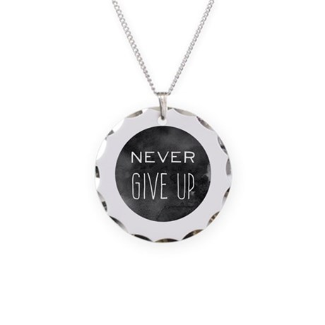 never give up necklace by anabellstar