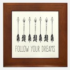 Follow Your Dreams Framed Tile