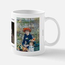 The Two Sisters by Renoir Mug