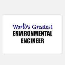 Worlds Greatest ENVIRONMENTAL ENGINEER Postcards (