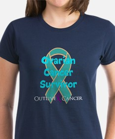 DARK Teal Ribbon T-Shirt