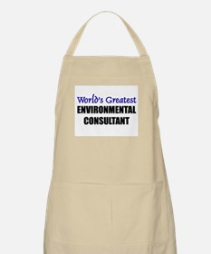 Worlds Greatest ENVIRONMENTAL CONSULTANT BBQ Apron