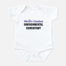 Worlds Greatest ENVIRONMENTAL CONSULTANT Infant Bo