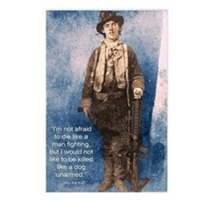 Billy the Kid Quote Postcards (Package of 8)